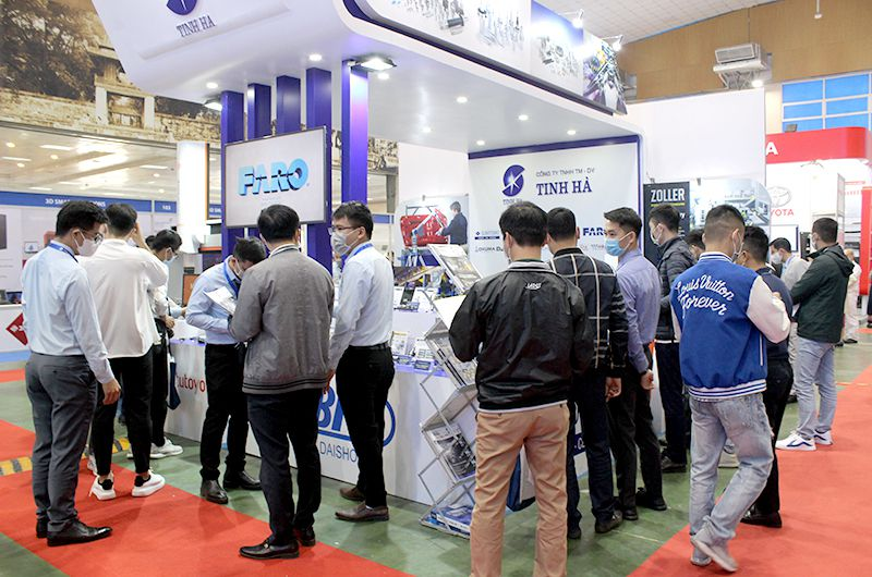 TINH HA'S BOOTH ATTRACTED ATTENTION AT VIMEXPO 2020