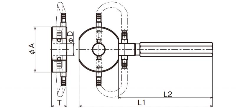 Đầu đo đường kính ngoài (loại trực tiếp) OR Type
