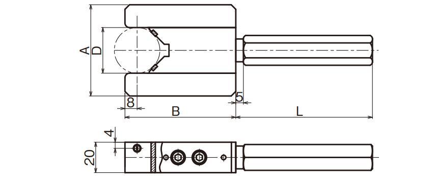 Đầu đo đường kính ngoài (loại trực tiếp)
