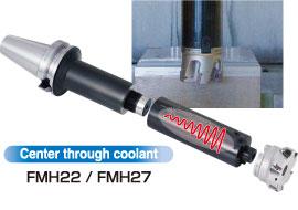 Đầu kẹp giảm rung động FMH - Smart Damper Type FMH