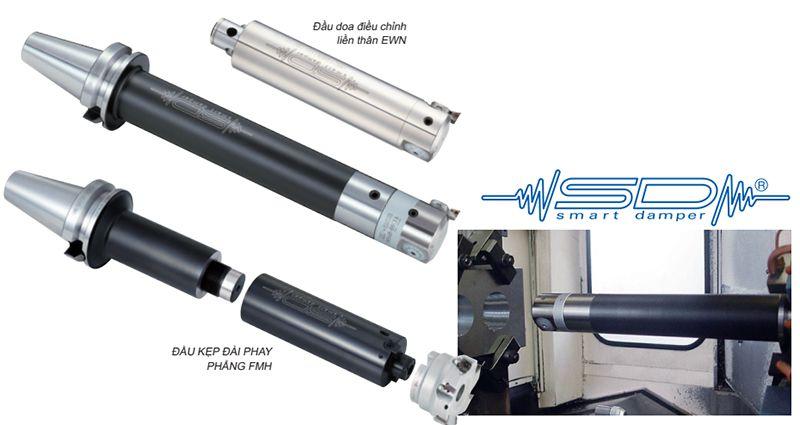 Đầu kẹp tích hợp Giảm chấn thông minh SMART DAMPER (CK Boring Type)
