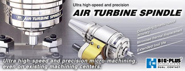 Đầu tăng tốc bằng khí nén Air Turbine Spindle