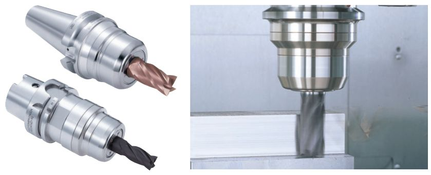 Bầu kẹp dao dùng cho gia công có lực cắt lớn - MEGA DOUBLE POWER CHUCK