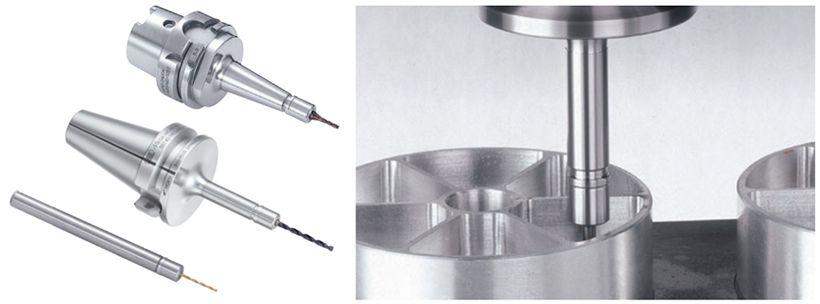 Bầu kẹp dao dùng cho khoan lỗ nhỏ và phay siêu chính xác - MEGA MICRO CHUCK