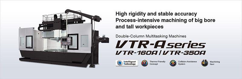 Máy gia công phức hợp cột đôi OKUMA VTR-A series