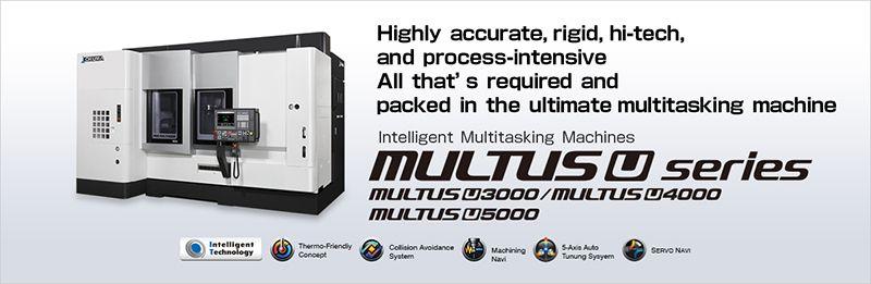 Máy gia công phức hợp thông minh OKUMA MULTUS U series