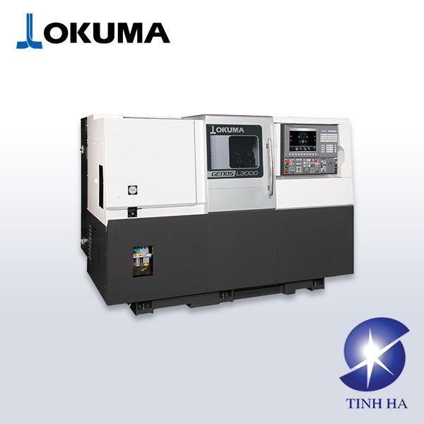Máy tiện CNC 1 bàn trượt OKUMA GENOS L2000/L3000