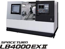 Máy tiện CNC 1 bàn trượt OKUMA SPACE TURN LB4000 EX Ⅱ