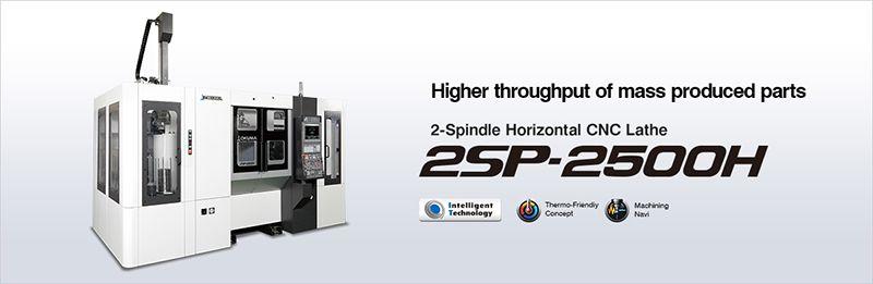 Máy tiện CNC 2 trục nằm ngang OKUMA 2SP-2500H