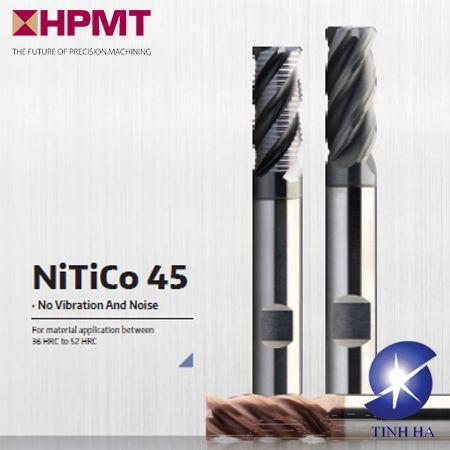 Mũi phay HPMT Nitico 45