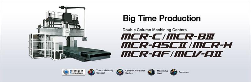 Trung tâm gia công cột đôi OKUMA MCR/MCV Series