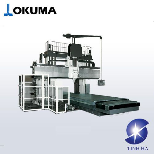 Trung tâm gia công cột đôi OKUMA