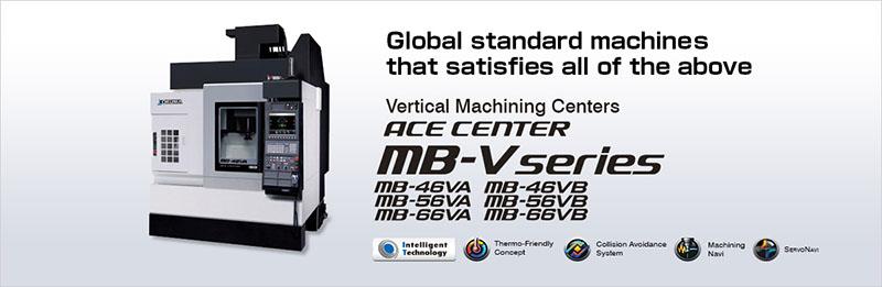 Trung tâm gia công đứng ACE CENTER MB-V series