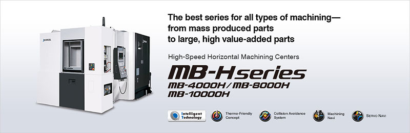 Trung tâm gia công ngang SPACE CENTER MB-H series