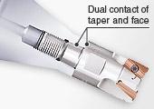Loại phay có thể thay thế đài dao CONTACT Grip