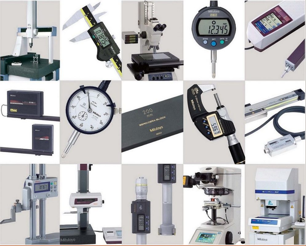 Thiết bị đo lường Mitutoyo đảm bảo độ chính xác cao