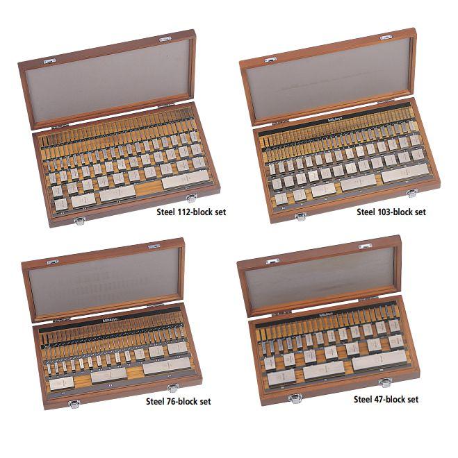 Bộ căn mẫu hình vuông hệ mét/inch series 516 Mitutoyo