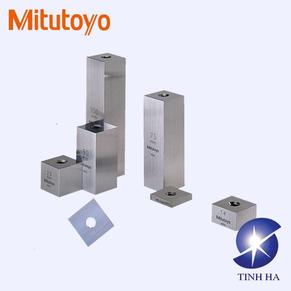Bộ căn mẫu hình vuông hệ mét/inch riêng lẻ Mitutoyo