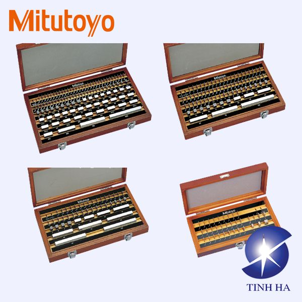 Bộ căn mẫu khối hình chữ nhật theo hệ mét/inch series 516 Mitutoyo