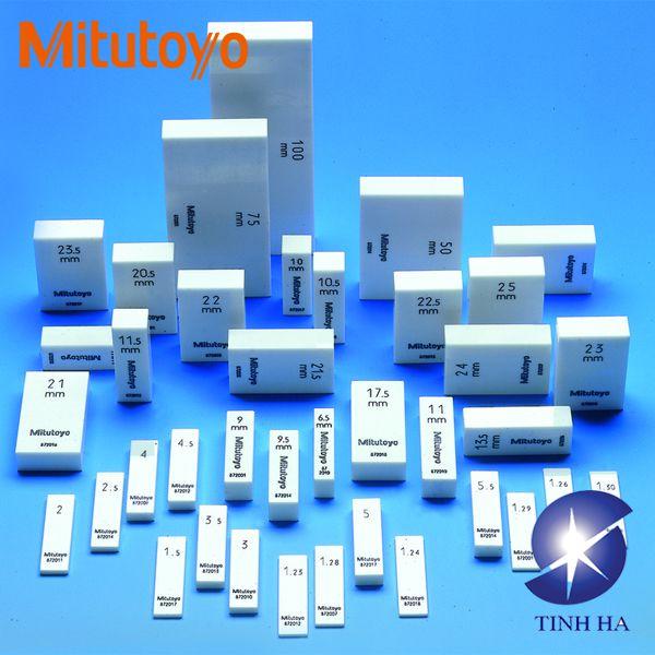 Bộ căn mẫu riêng lẻ hình chữ nhật theo hệ mét Mitutoyo