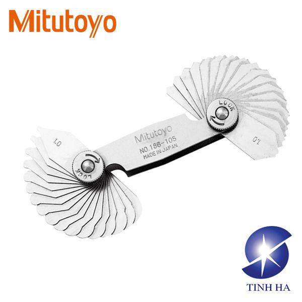 Bộ dưỡng đo bánh răng Mitutoyo series 186