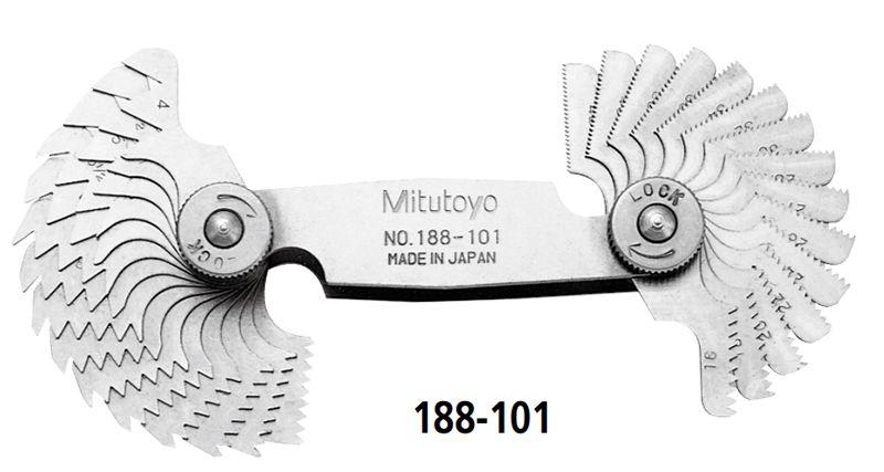 Bộ dưỡng đo bước ren Mitutoyo series 188-101