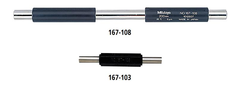 Bộ thanh chuẩn Panme đo ngoài Mitutoyo series 167