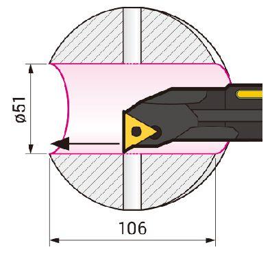 Cán dao tiện trong chống rung SumiTurn X-Bar Sumitomo