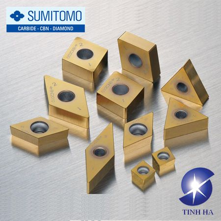 Dòng chip tiện tráng SUMIBORON BNC2010/2020 cho thép cứng