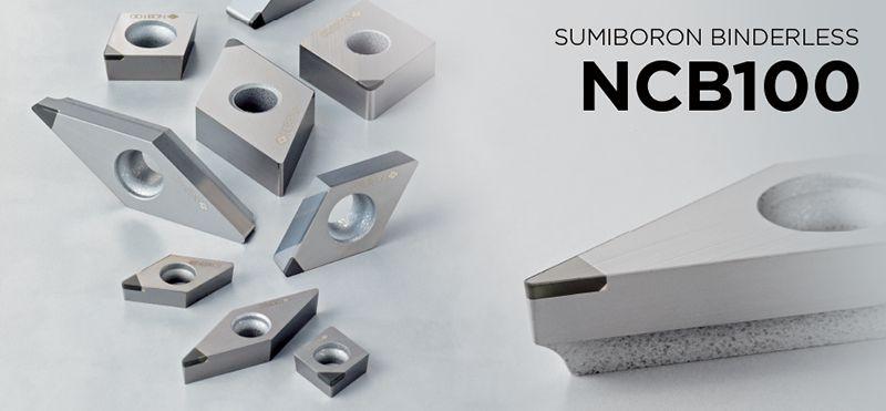 Dòng dao tiện SUMIBORON BINDERLESS NCB100