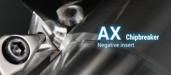 AX Type Chipbreakers