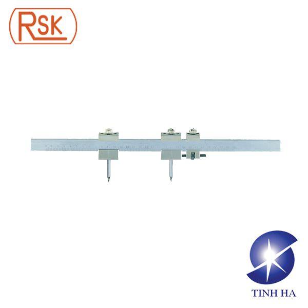 Compa thép đo bề mặt có thang đo RSK No.581