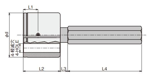 Đầu đo đường kính trong (loại trực tiếp) IA Type