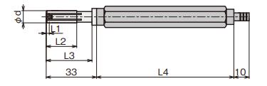 Đầu đo đường kính trong (loại trực tiếp) IC Type