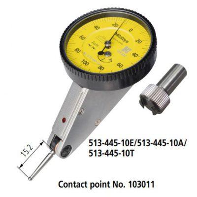 Đồng hồ so chân gập series 513 loại ngang (mặt nghiêng 20o), dọc và song song