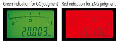 Đồng hồ so điện tử ID-F series 543 màn hình lCD Back-lit