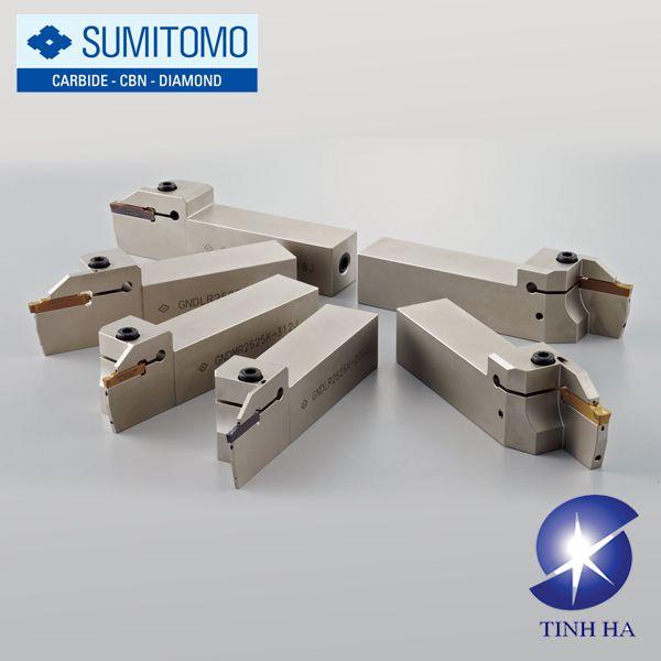 Dụng cụ tạo rãnh & tiện Sumitomo GND series