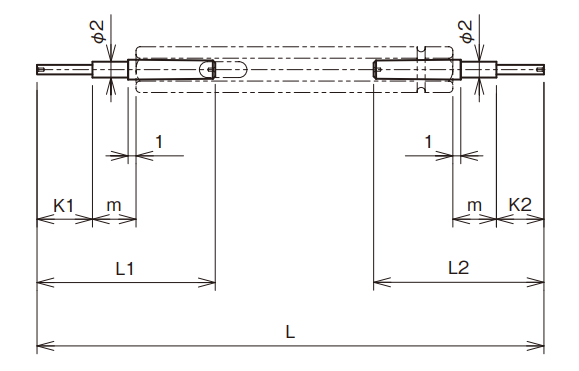 Dưỡng trụ đo lỗ hai đầu Ojiyas - Limit Plug Gauge