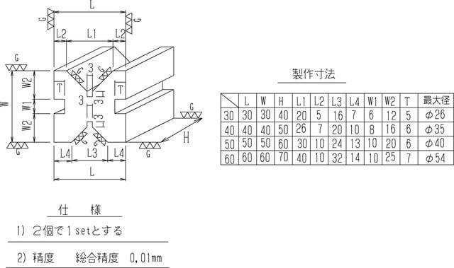Khối chữ V (V-Block) RSK có kẹp No.586
