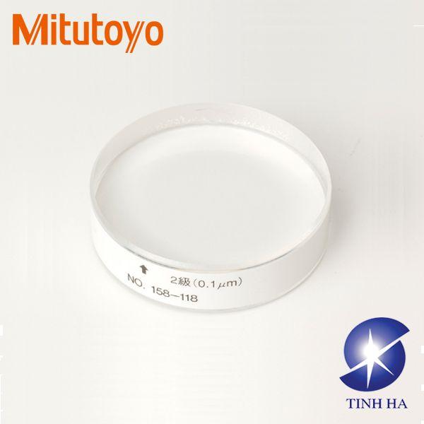 Kính kiểm tra độ phẳng Mitutoyo series 158