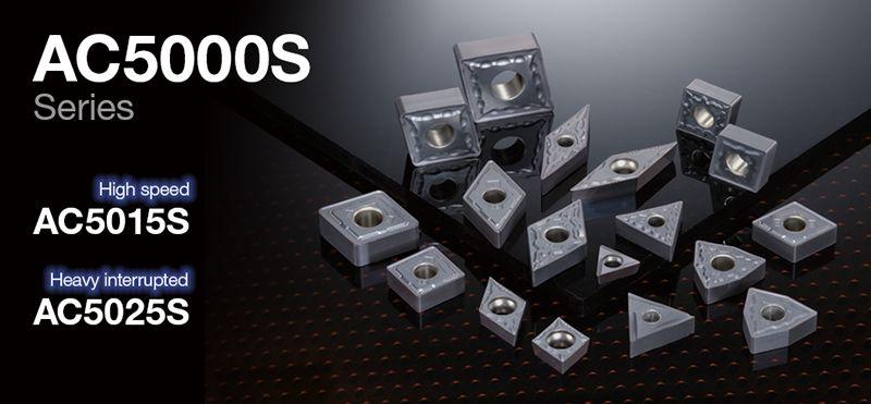 Dòng chip tiện Sumitomo AC5000S cho hợp kim chịu nhiệt