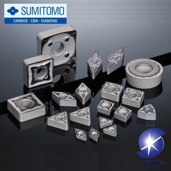 Mảnh dao tiện Sumitomo AC8000P series dùng tiện thép