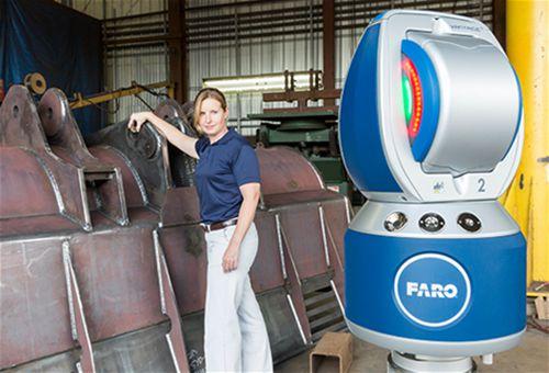 FARO®推出最新華帝激光跟踪儀探頭6自由度
