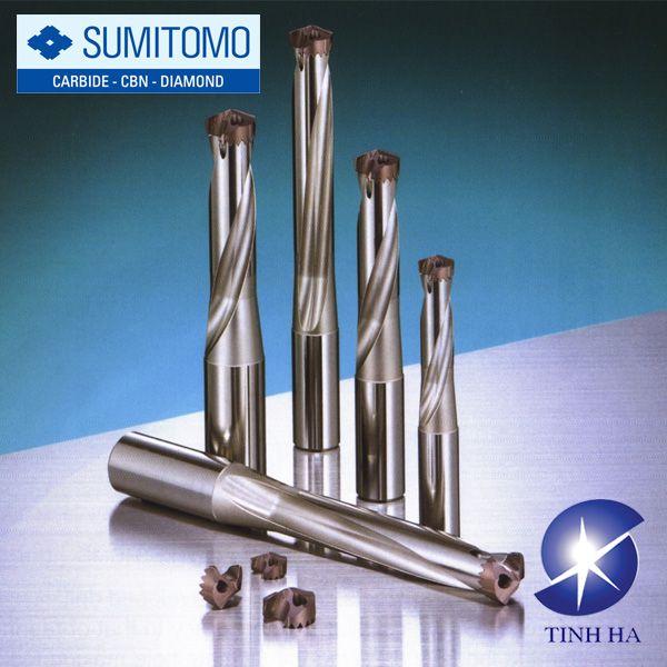 Dòng mũi khoan SMD có thể thay đổi đầu khoan Sumitomo