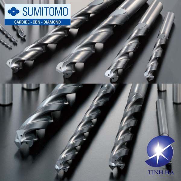 Dòng mũi khoan cacbua Strong MultiDrill HX / HY Sumitomo