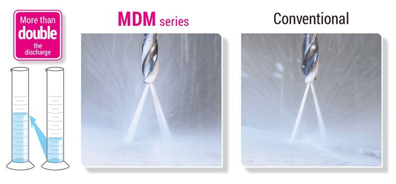 Dòng mũi khoan phủ cacbua MDM cho thép không gỉ Sumitomo