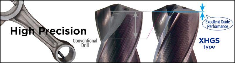 Dòng mũi khoan XHGS dùng cho khoan lỗ sâu Sumitomo