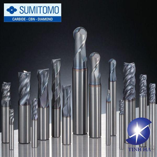 Dòng mũi phay cacbua rắn GSX Mill series Sumitomo