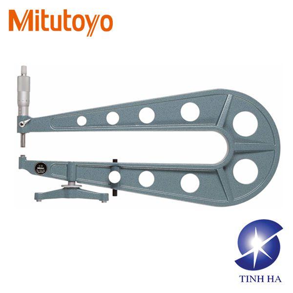 Dòng Panme đo tấm kim loại phẳng series118 Mitutoyo