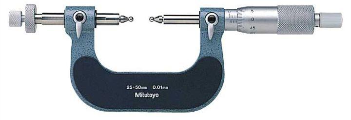 Dòng Panme cơ khí đo bánh răng series124-173 Mitutoyo